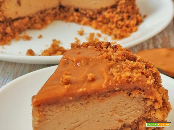 Cheesecake al Caramello Salato 6 Ingredienti Fit Low Carb