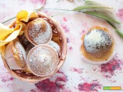 Muffins al caffè con yogurt