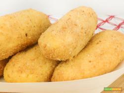 Crocchette di patate o panzarotti napoletani