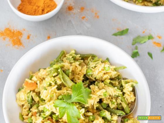 Riso basmati con verdure: ricetta thailandese facile