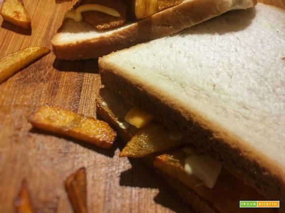 Chips butty (Gran Bretagna)