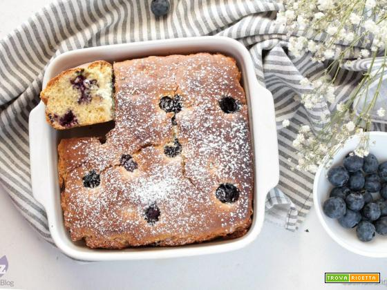 Blueberry cake (torta ai mirtilli)