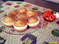 Muffin dolci alla zucca senza glutine