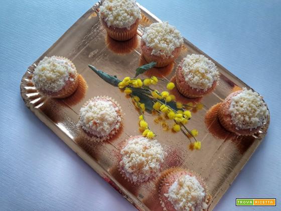 Muffin Mimosa senza glutine