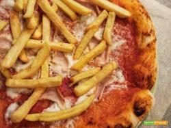 Pizza Margherita cotto e patatine senza glutine