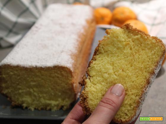 Plumcake ai mandarini senza glutine