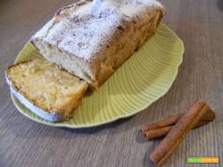 Plumcake mele e cannella senza glutine