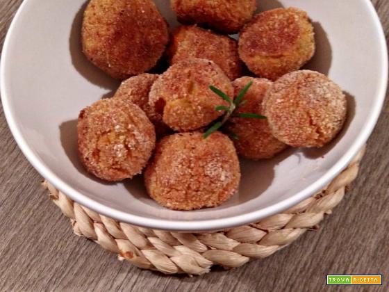 Polpette zucca e patate senza glutine