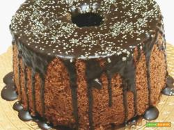 Torta Fluffosa arancia e cioccolato senza glutine
