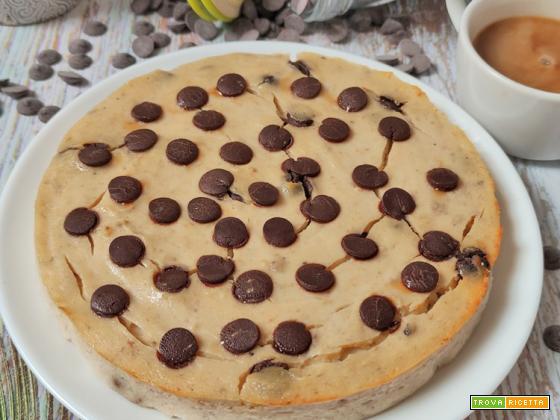 Torta Ricotta e Cioccolato 3 Ingredienti Senza Glutine Senza Zucchero