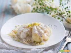 Culurgiones con salsa di bottarga, primo sardo