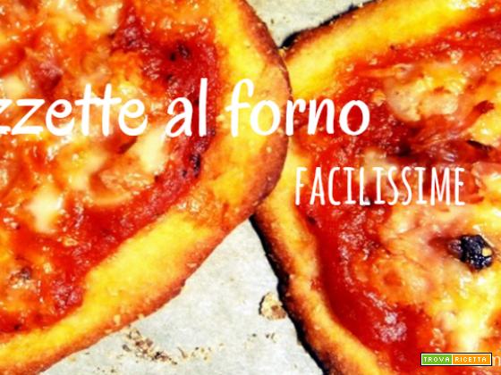 Pizzette fatte in casa al forno: la ricetta testata più veloce del mondo