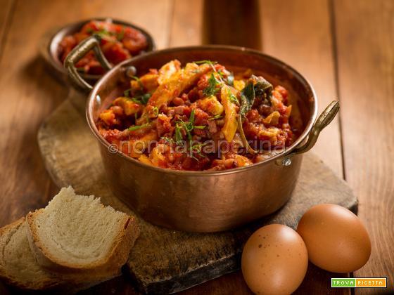 Busecca matta con carne e verdure, piatto lombardo