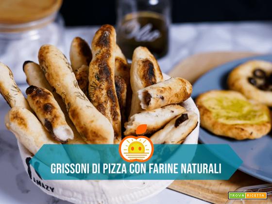 Grissoni di pizza con farine naturali senza glutine