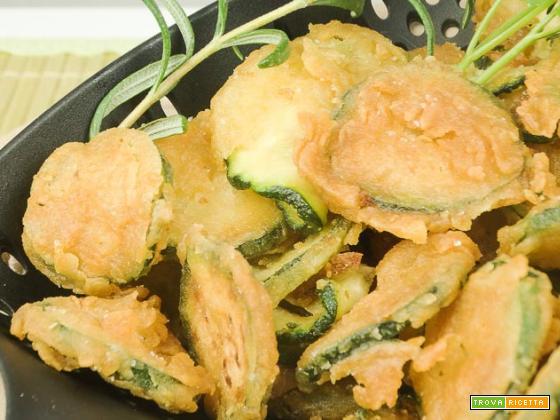Zucchine fritte croccanti