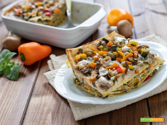 Lasagne con verdure estive