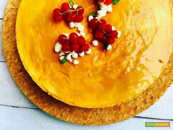 Cheesecake al Caramello Salato senza cottura