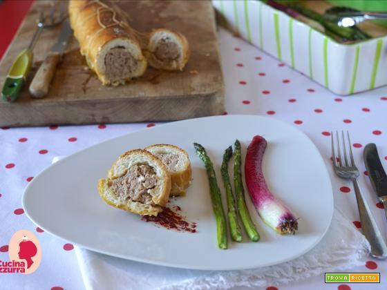 Baguette imbottita: piatto goloso per bambini!