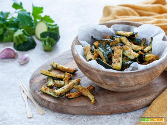 Zucchine sabbiose semplici e leggere
