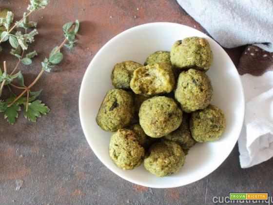 Polpette vegetariane di bietole e patate