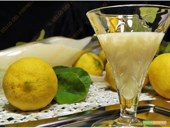Crema – liquore al limoncello