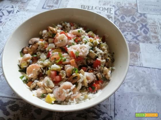 Insalata di riso sapore di mare