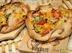 Gallette gusto pizza con erbe provenzali e vegformaggio