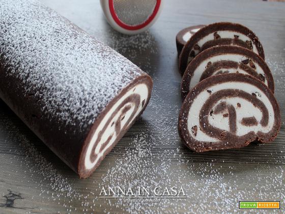 Rotolo lampo cioccolato - ricetta passo passo
