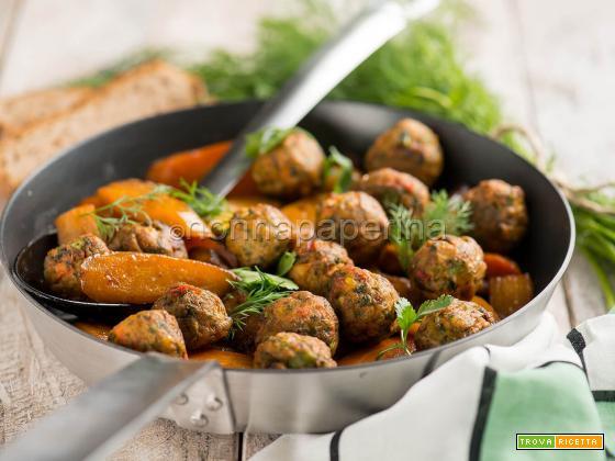 Polpette con carote, una deliziosa alternativa