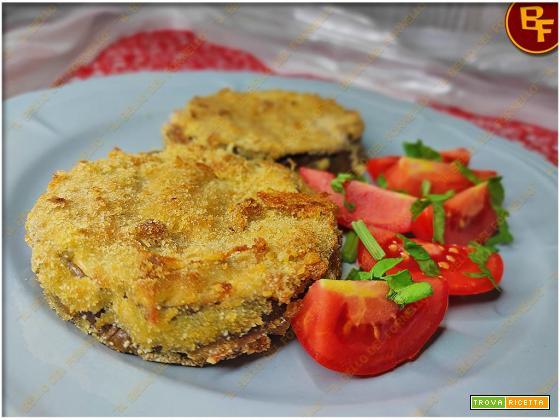 Cordon bleu di melanzane – al forno