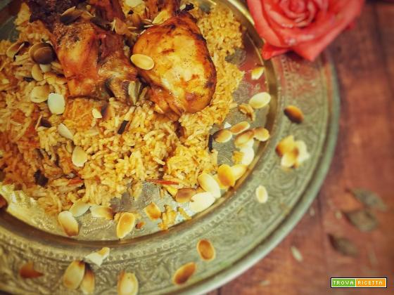 Kabsa rice (Arabia Saudita)