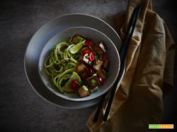 Tofu piccante con Cipollotto e Paprika dolce