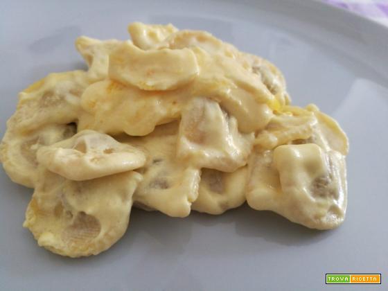 Raviolini in crema di limone