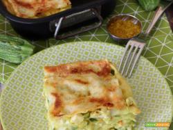 Lasagne ripiene di Pollo al Curry