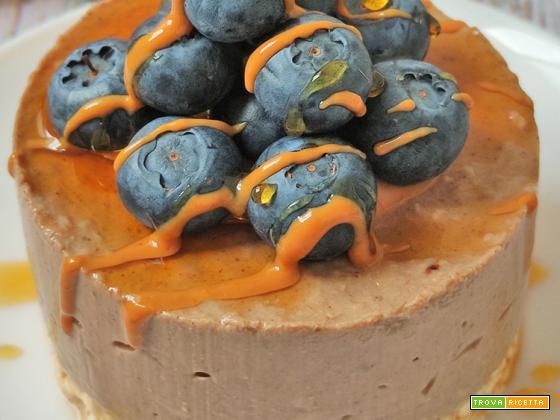 Cheesecake al Caramello Low Carb Proteica Senza Glutine e Zucchero