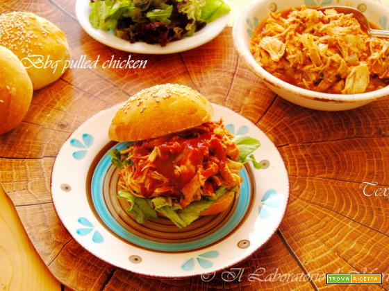 BBQ PULLED CHICKEN ALLA SLOW COOKER