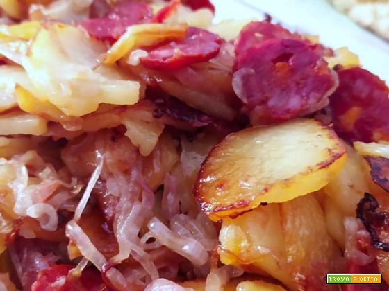 Patate mpacchiuse ricetta calabrese