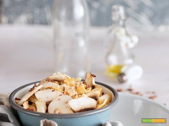 Insalata champignon e sedano rapa