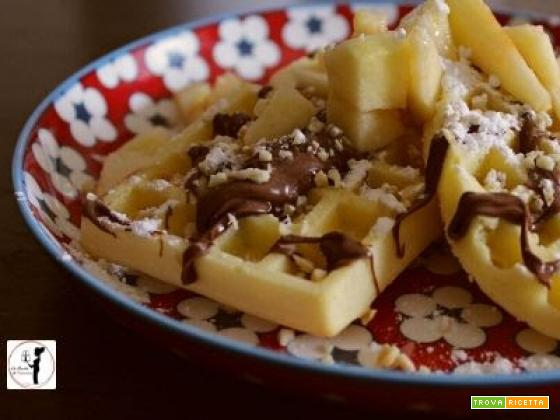 Waffle in friggitrice ad aria
