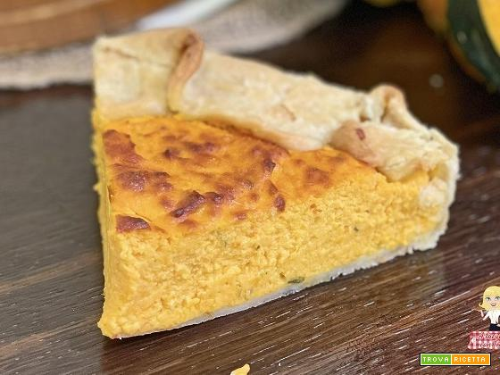 Torta SALATA di ZUCCA facile e veloce