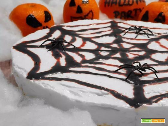 Cheesecake di Halloween con ragnatela (Ricetta Bimby)